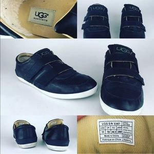 Ugg B-Ronx Leather Shoes Double Strap Vibram